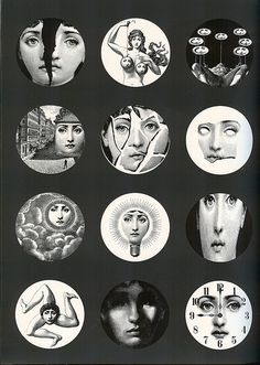Lina Cavalieri by Piero Fornasetti Kunst Inspo, Art Inspo, Piero Fornasetti, Journal Stickers, Instagram Highlight Icons, Aesthetic Wallpapers, Art Drawings, Artsy, Sketches