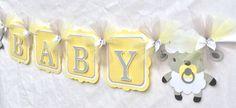Lam banner lam baby shower baby douchedeur NancysBannerBoutique