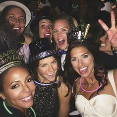 Celebrating the holidays. | 32 Reasons The U.S. Women's Soccer Team Is #SquadGoals Defined