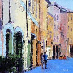 """""""A Walk In Florence"""" - Leslie Saeta Fine Art"""