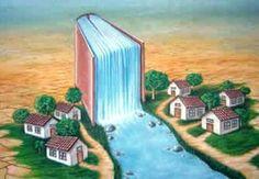 #kitap #şelale #karikatür #ırmak #nehir #kasaba #hayat #kaynak #anlamlı
