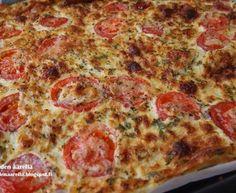 Mehevä tomaattipannukakku Pepperoni, Pizza, Cheese, Food, Essen, Meals, Yemek, Eten