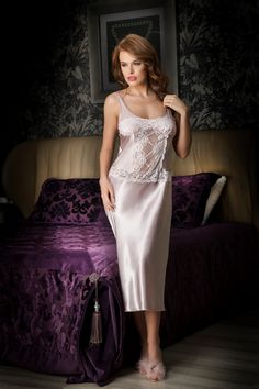 18a72f6b6c 31 Best Silk Nightgown images