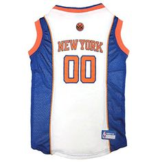 Pets First NBA New York Knicks Mesh Jersey ** For more information, visit now (This is an amazon affiliate link. I may earn commission from it)