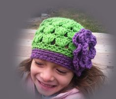 Lovely Cluster style hats with or with out flower by fioreblu4u1, $15.00