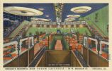 Chicagos Beautiful New Forum Cafeteria -- 64 W. Madison St. -- Chicago, Ill. :: Postcards - Chicago