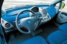 Multipla Dasboard | Kom lige til at tænke på, at Fiat Multipla faktisk har et ret interessant tekstil-dashboard.
