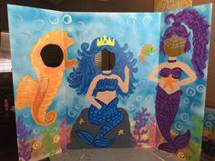 Mermaid Party Mermaid Birthday Mermaid Cutout by CreativChick