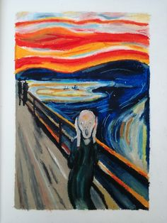 "Copy of Edvard Munch's ""The Scream"""