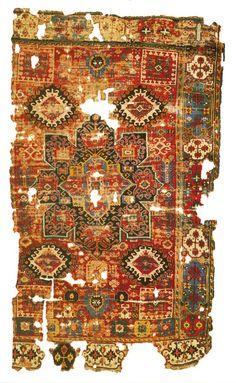 Turkish Bergama Rug 16th Century