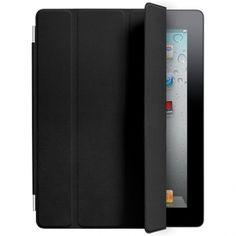 Apple iPad2/iPad3 Smart Cover Leather Black I want a blue or lime green tho : (