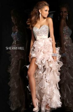 Classic Hi-lo Sherri Hill 21158 Nude Prom Dresses Nude Prom Dresses, Prom Dress 2014, High Low Prom Dresses, Sherri Hill Prom Dresses, Prom Dress Shopping, Homecoming Dresses, Dresses 2013, Dresses Online, Wedding Dresses