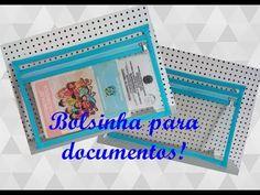 Passo a passo capa para cartão de vacina e documentos plastificada!