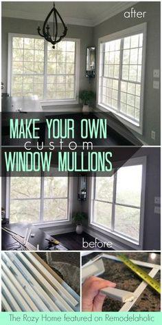 Add On Window Panes Colonial Windows Muntins Mullions