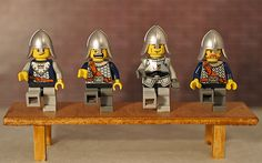 Third birthday apple juice and the round on pinterest - Knights of the round table lego ...