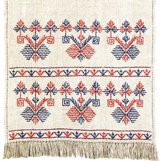 A form of blackwork.  I wonder if it's reversible? #ukrainian #embroidery Ukrainian embroidery
