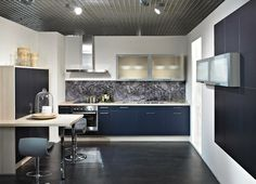 cuisine aviva en l fonctionnelle bleu blanc gris cuisine pinterest meilleures id es. Black Bedroom Furniture Sets. Home Design Ideas