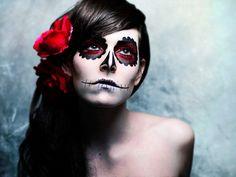 Sugar Skull makeup :)