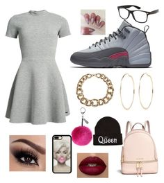 """""""Untitled #15"""" by aniyah-king234 on Polyvore featuring Superdry, NIKE, Givenchy, River Island, Helen Moore and Michael Kors"""
