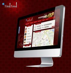 Find Food - Portal z bazą restauracji, kawiarni oraz wszelkiego rodzaju miejsc z dobrym jedzeniem. Nasze prace objęły stworzenie projektu graficznego portalu oraz logotypu. (2)