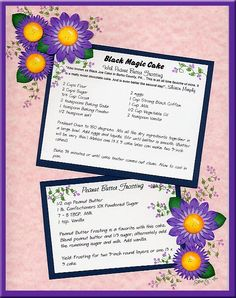 Scrapbook Recipe Page Layout. Plus a link to other scrapbooking border ideas as well. Scrapbook Borders, Scrapbook Page Layouts, Scrapbook Cards, Scrapbooking, Recipe Card Boxes, Recipe Cards, Magic Cake Recipes, Black Magic Cake, Vintage Newspaper