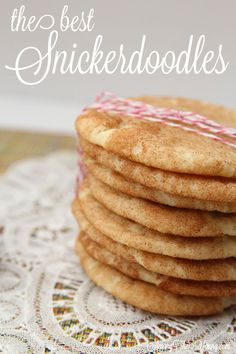 Among the Young: The best Snickerdoodles