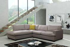 Couchgarnitur Sofa Couch DAVIS L Wohnlandschaft Polsterecke sehr komfortabel