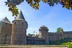 Ramparts of the castle of Ferns, Bretagne, France - © D. Guillaudeau - CRTB