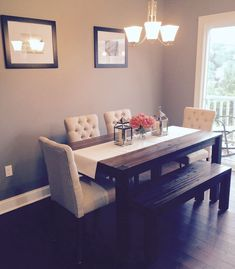 Dining Room Avondale Macy S Table Bench With Fabric Chairs From Tar Best Home Decor Designs