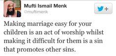 Marriage. Islam. Mufti Menk.