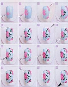 nail art tutorial - Google Search