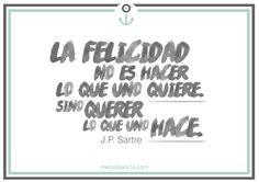 La felicidad #ReflexiónCoaching