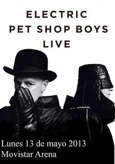 Pet Shop Boys - 13 de mayo - Movistar Arena