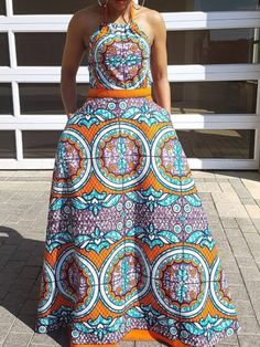 African Print Fashion, Fashion Prints, Geometric Dress, Geometric Prints, Kente Dress, African Women, African Wear, African Beauty, Jumpsuits For Women