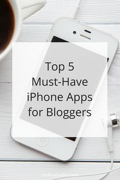 Here are the top iPhone apps for bloggers. How do you keep up with everything? Save time running your website and managing social media... ~ http://cookeatpaleo.com