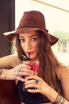 Suede Boho Panama Hat #urbanoutfitters