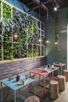 Mahalo South Pacific Fine Food Concept Restaurant, Rome, 2016 - Roberto Mercoldi Architecture