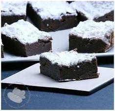 Brownies con avocado e poco burro