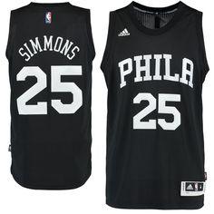 Ben Simmons Philadelphia 76ers adidas Fashion Swingman climacool Jersey -  Black caa611aff