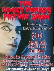 "Rocky Horror Picture Show - http://www.eventsubmit.net/event.php?id=20213=type%3D%26search%3Dhorror #RockyHorror #Ventura    Hey there, an invitation to ""Like"" us on Facebook. We want to help you discover all the parties and other events happening close to you. http://www.facebook.com/pages/EventSubmit/199260180116484?sk=app_190322544333196  Or, maybe you have an event to tell people about - www.eventsubmit.net (VTA)"