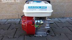 Čtyřtaktní motor 6.5 Hp+ elektrický starter - obrázek číslo 1