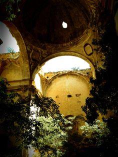 Convento del Desierto (Calanda) Teruel, abandoned convent in an extremely  beautiful landscape