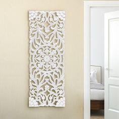 "Wooden Cross 22/"" Graywash Finish Teak Wood Rustic Wall Hanging Home Decor"