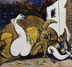 Andre Masson - Pasiphae, 1937