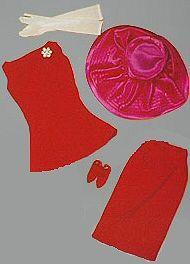 1966-67 Barbie - Music Center Matinee #1663