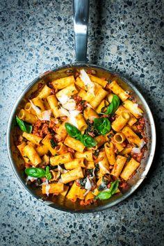 Quick & easy midweek dinner. Pork & Fennel Ragu | DonalSkehan.com
