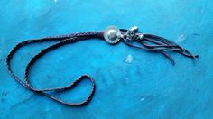 Gypsy button fringe necklace by DesertDaisyJewelry on Etsy