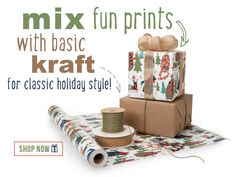 Christmas gift wrapping ideas from Nashville Wraps!