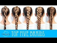 HOW TO BRAID FOR BEGINNERS! - YouTube