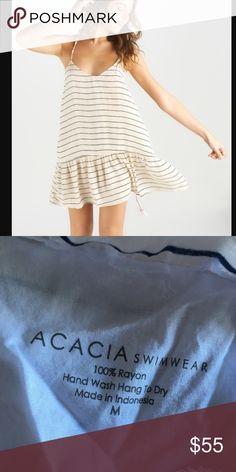 acacia swimwear st tropez dress 100 rayon. Size Medium. Cape Cod print acacia swimwear Dresses